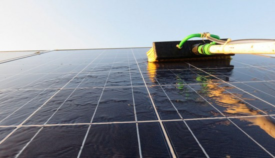 Cleaning, solar panels
