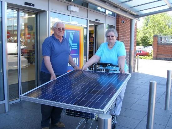 Aldi Supermarket Botley Road Oxford Joju Solar