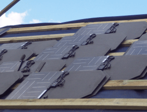 JojuSolarRoofTiles1 300x229 tesla's solar panel roof tiles, an installer's view joju solar Harley-Davidson Motorcycle Wiring Diagrams at bakdesigns.co