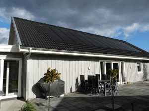 to traditional onroof solar however you would be able to make savings by not having to install slates and tiles where the panels are located
