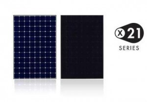 Sunpower, X21, high efficiency, solar panel