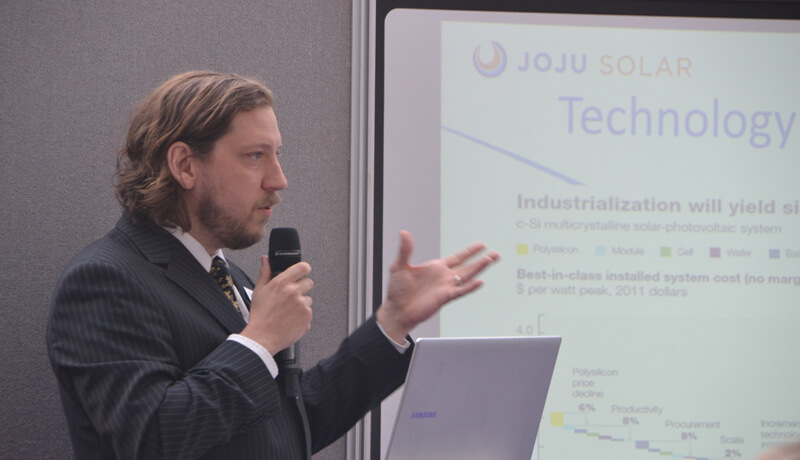 Chris Jardine, solar, expert, lecture, cpd course