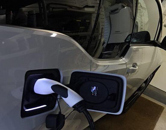 Car charging, garage