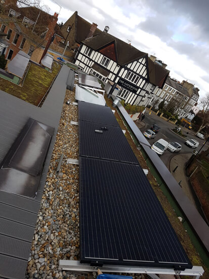 green roof, turf roof, solar, PV, solar green roof