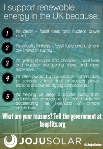 Why I support renewables