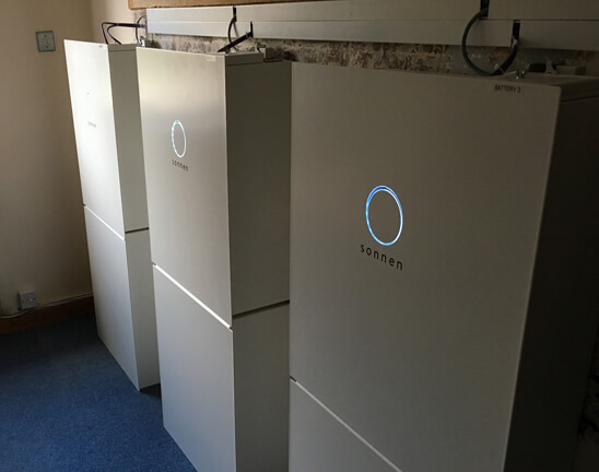 commercial battery storage, sonnen, repower balcombe, sussex, Eco8