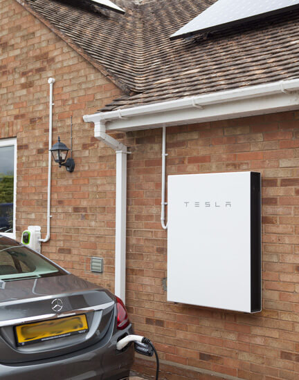 Tesla Powerwall, ev charge station, electric vehicle