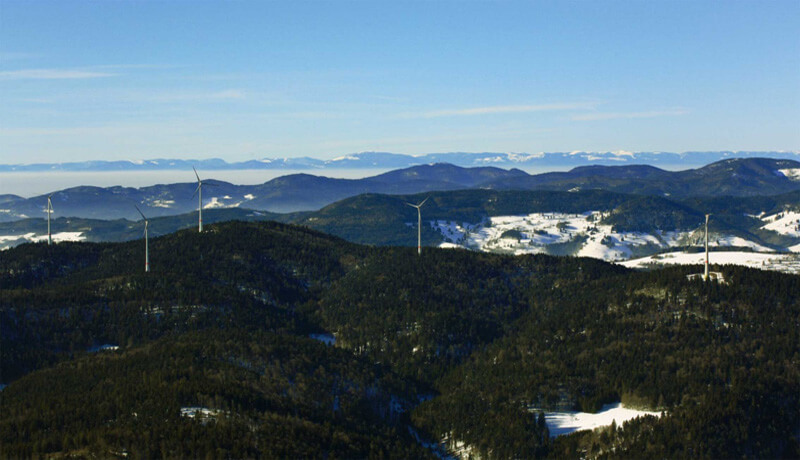 cooperative energy, Rohrenkopf, wind farm, German, community energy, Black Forest