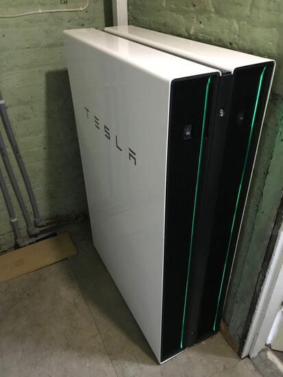 tesla, powerwall, powerwall2, double powerwall
