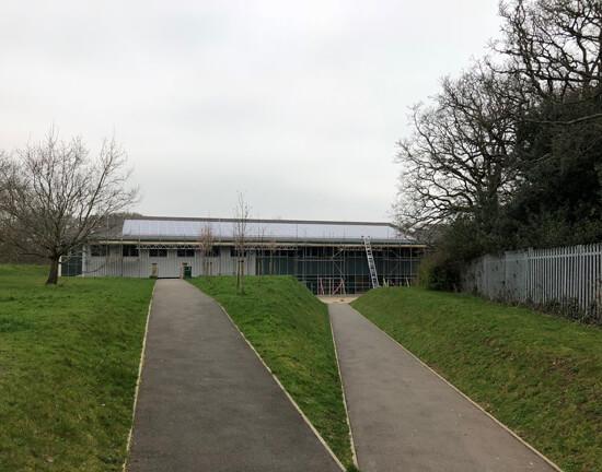 Leaf Studio, Abitions Trust, solar school, integrated, recessed, solar