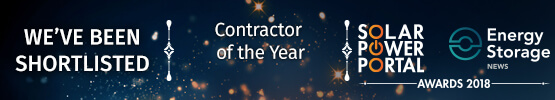 Solar Power Portal Awards, Contractor of the Year, 2018