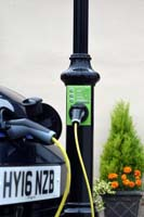 CItyEV, Cityline 100, lamp post, lampost, charger, chargepoint