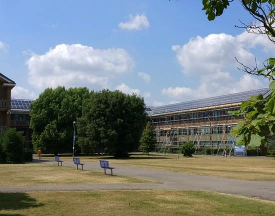 University of Reading, solar, Edith Morley, campus, solar panels, subsidy free, FiT free