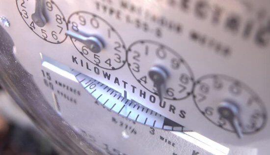 Electricity Meter, dials, kWh, electricity tariffs, renewabe energy, green