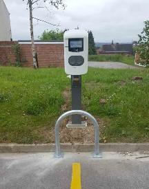 Rotherham, Metropolitan, Borough, Council, Aston, Alfen, Eve, electric car, charging