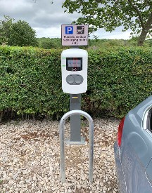 Rotherham, Metropolitan, Borough, Council, Rother VAlley, Country PArk, EV, charge point, Alfen