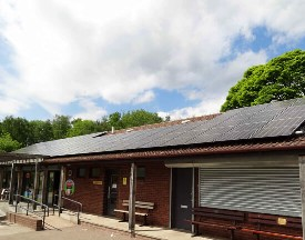 Rotherham, Metropolitan, Borough, Council, Thrybergh, Country PArk, Solar, PV