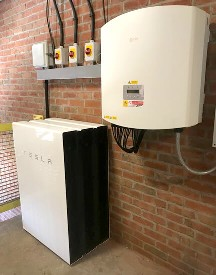 Rotherham, Metropolitan, Borough, Council, Wellgate, car park, Tesla, Powerwall, battery storage