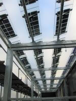Solar Louvres, Plant Screen, Solar Plant Screen, Louvres, Vertical Solar, Standing Solar
