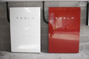 Multiple Powerwall, Tesla, Powerwall, red, red powerwall