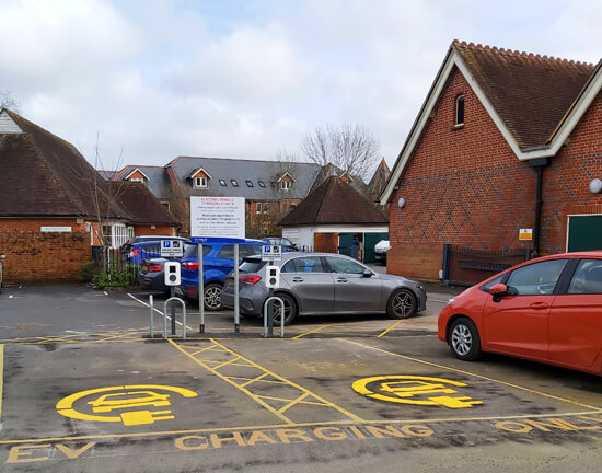 Test Valley, Princes Road, ev charger, funded, fully funded