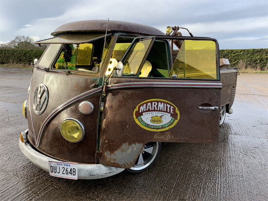 VW bus, Split screen, electric, battery, classic car