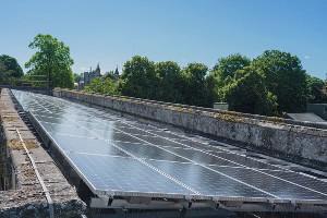 Salisbury Cathedral, solar, 37kW, Sunpower