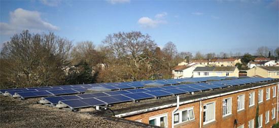 Egni Coop, Solar, School