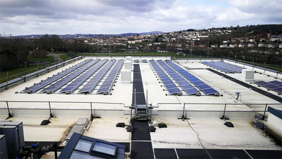 Egni Coop, Fat roof, solar, Newport Council