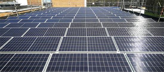 Egni Coop, solar panels