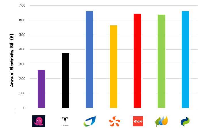 ctopus Go, Tesla Energy Tariff, EdF, eon,