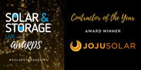 Contractor of the Year, Installer of the Year, SOlar and Storage LIVE Awards, 2020