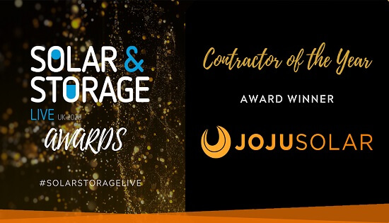 Solar And Storage LIVE, Contractor of the Year, 2020, Winner, Award