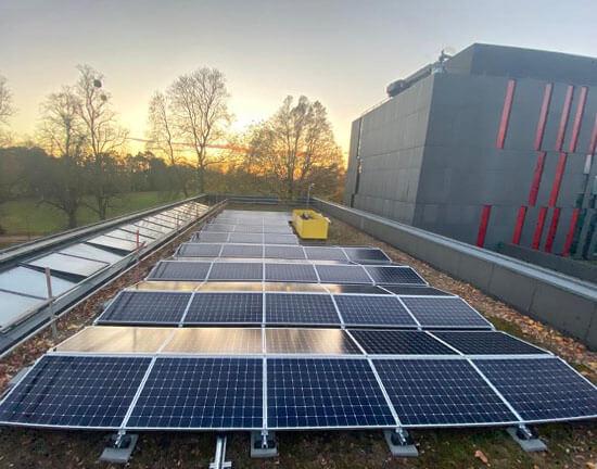 Oxford Brookes, Salix, SunPower, solar panels