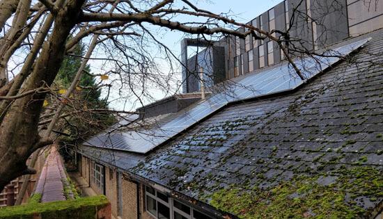 Oxford Brookes, solar panels, solar PV, SunPower