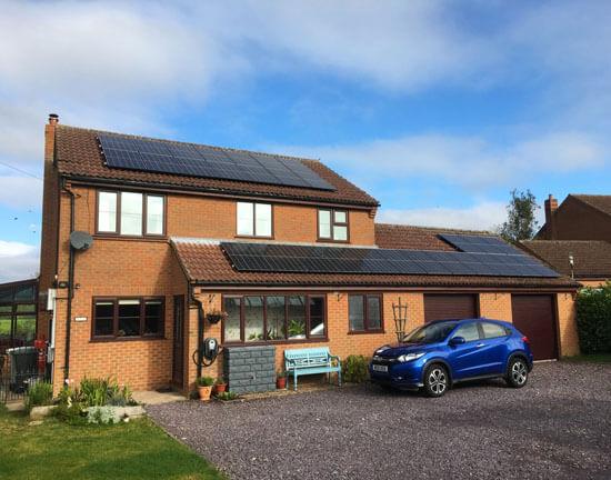 Solar panels, EV, Zappi