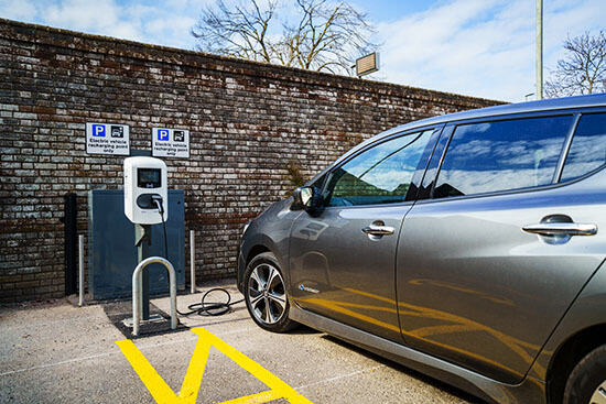 Dorset, fast EV chargers