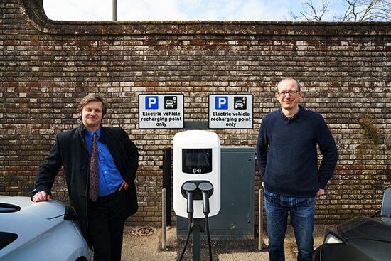 Dorset County Council, Ev charge point, launch