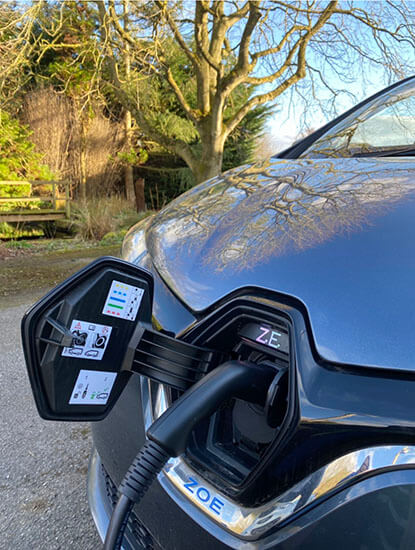 Grame Patton, Renault Zoe, First EV