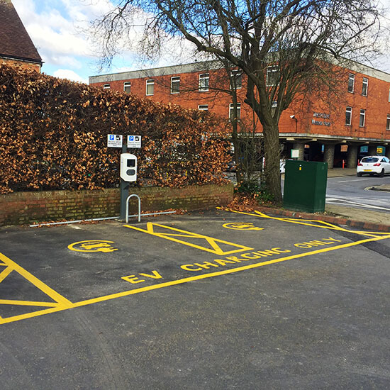 Winchester, EV charging