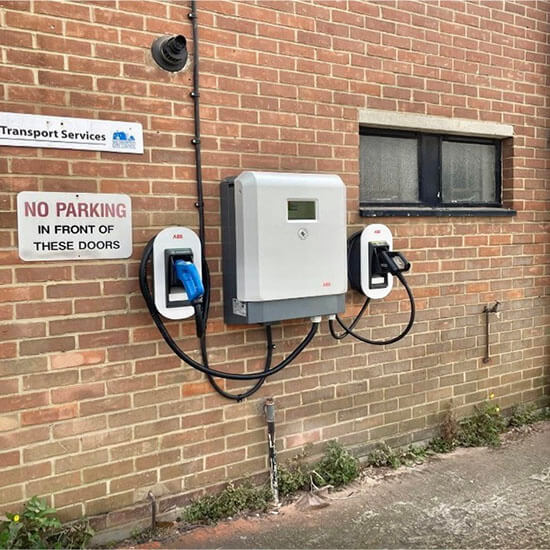 ABB, Wallbox charger, 25kW, DC